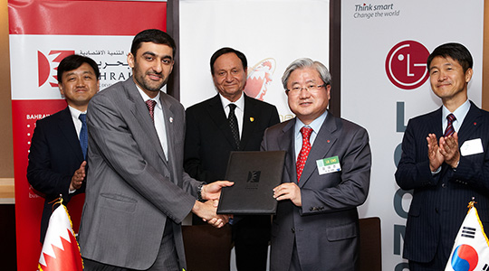 Signed a contract to export a corporation registration system to Bahrain's Supreme Court (Korea's first E-Government export to the Middle East market)
