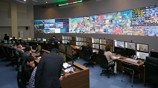 Opened the U-City Operation Center in the Incheon Free Economic Zone (IFEZ)