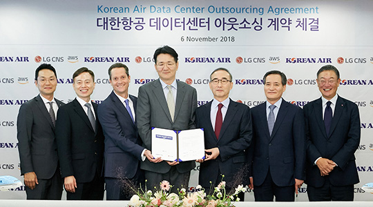 Won a contract for Korean Air's cloud transition (first group-wide system transition to cloud among conglomerates in Korea)