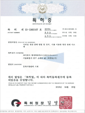 Patents in Korea1
