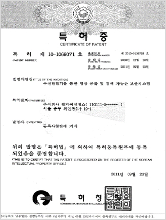 Patents in Korea2